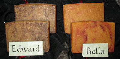 Sunset Pines Naturals Goat Milk Soaps Inspired by Twilight: Bella & Edward