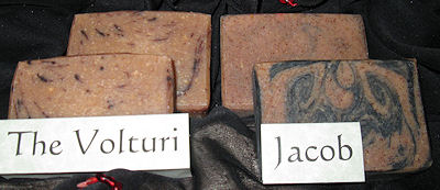 Sunset Pines Naturals Goat Milk Soaps Inspired by Twilight: Jacob and the Volturi