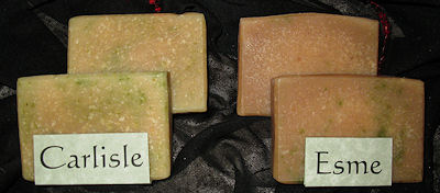 Sunset Pines Naturals Goat Milk Soaps Inspired by Twilight: Esme & Carlisle