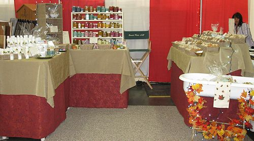 Sunset Pines Naturals Booth