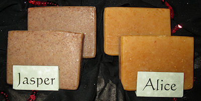 Sunset Pines Naturals Goat Milk Soaps Inspired by Twilight: Alice & Jasper