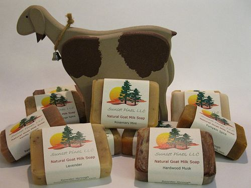 Sunset Pines Naturals Handcrafted Goats Milk Soaps